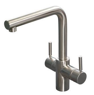 3in1 Tap Only Brushed Steel